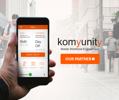 BrightContact Workforce expert partner for Komyunity